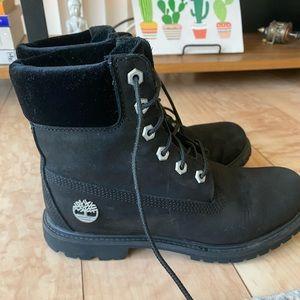 Timberland velvet accent premium waterproof boots